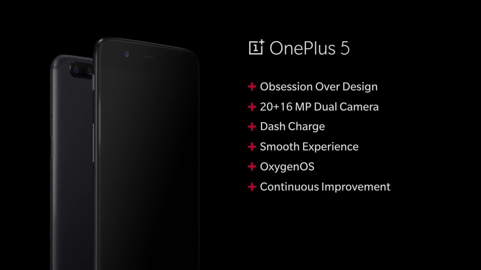 OnePlus 5 keynote summary 1 1