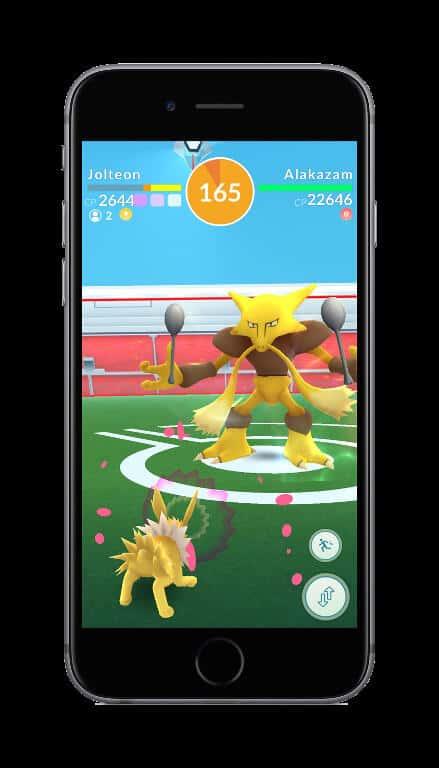 Pokemon GO Raids 16