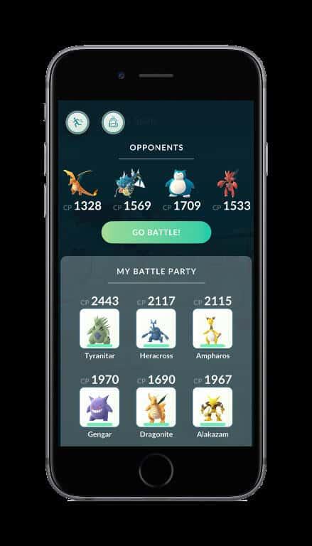 Pokemon GO Raids 6