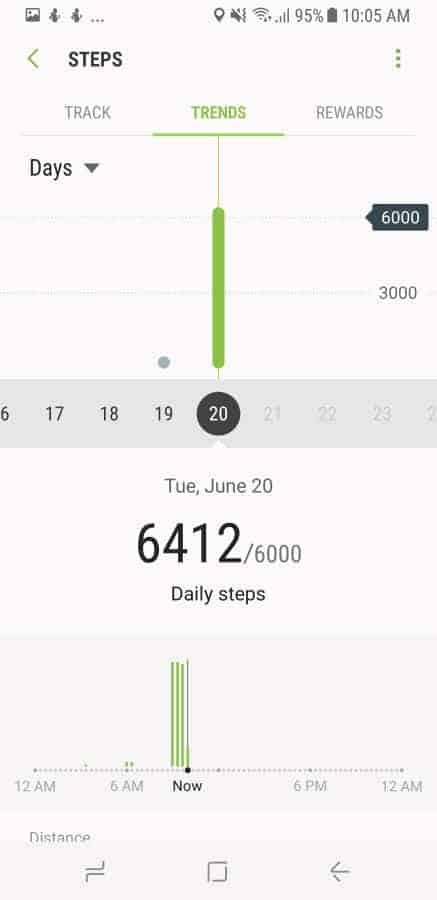Samsung Health Screenshot 20