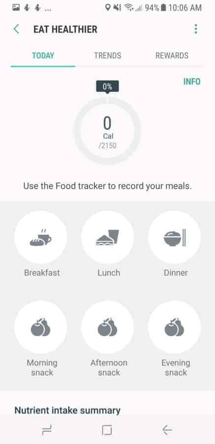 Samsung Health Screenshot 22