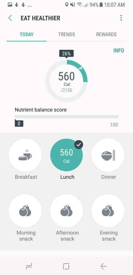 Samsung Health Screenshot 26