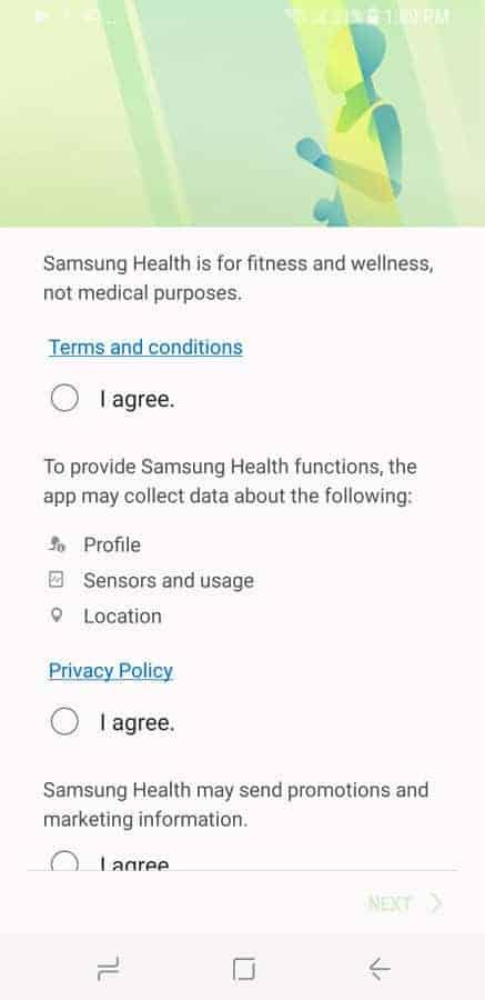 Samsung Health Screenshot 3