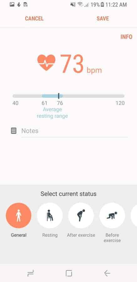 Samsung Health Screenshot 50