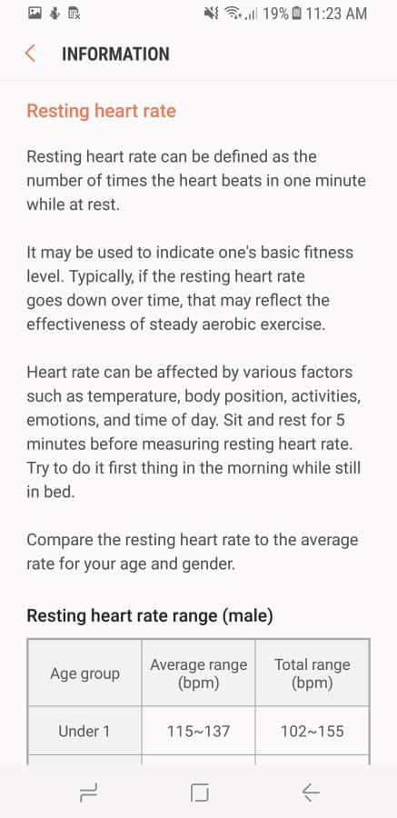 Samsung Health Screenshot 52