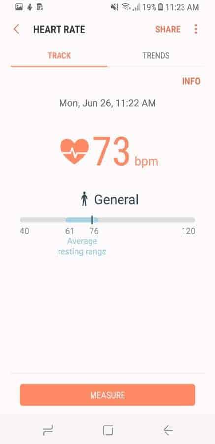 Samsung Health Screenshot 53