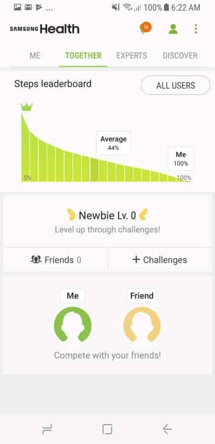 Samsung Health Screenshot 6