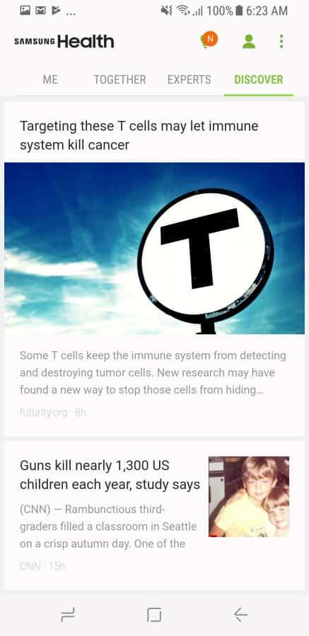 Samsung Health Screenshot 9