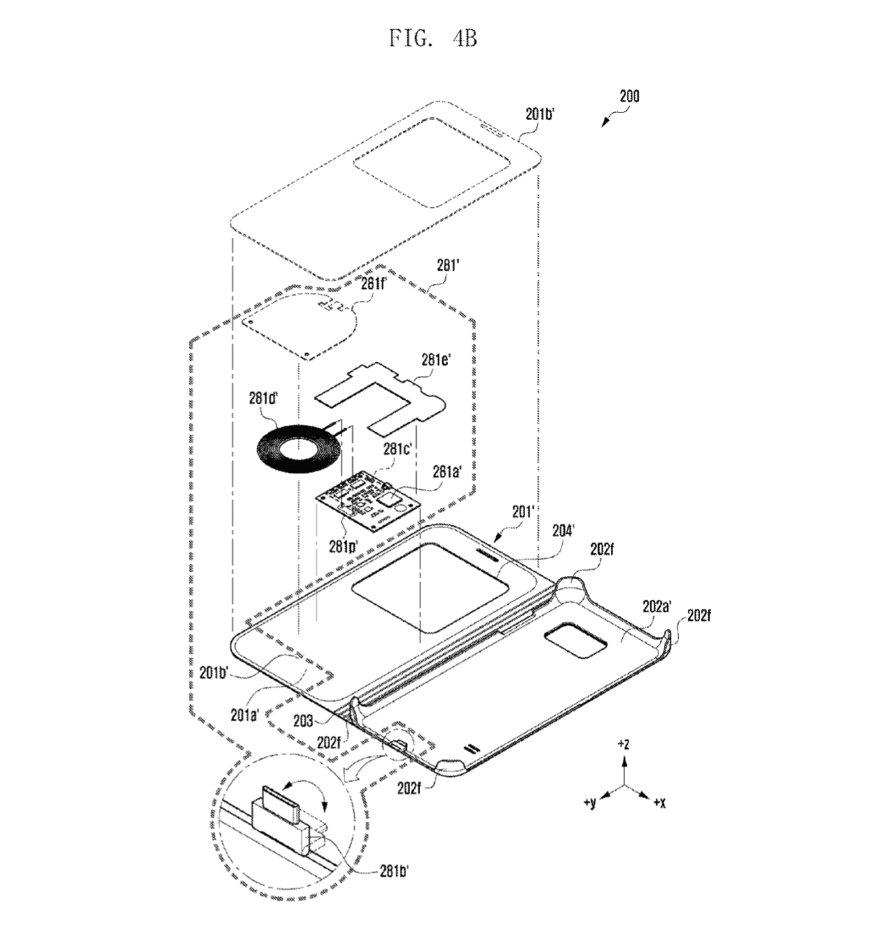 Samsung Wireless Charging Case Patents 1