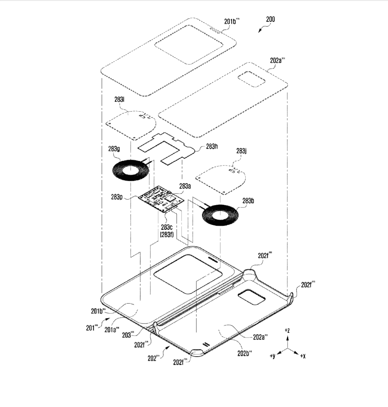 Samsung Wireless Charging Case Patents 4