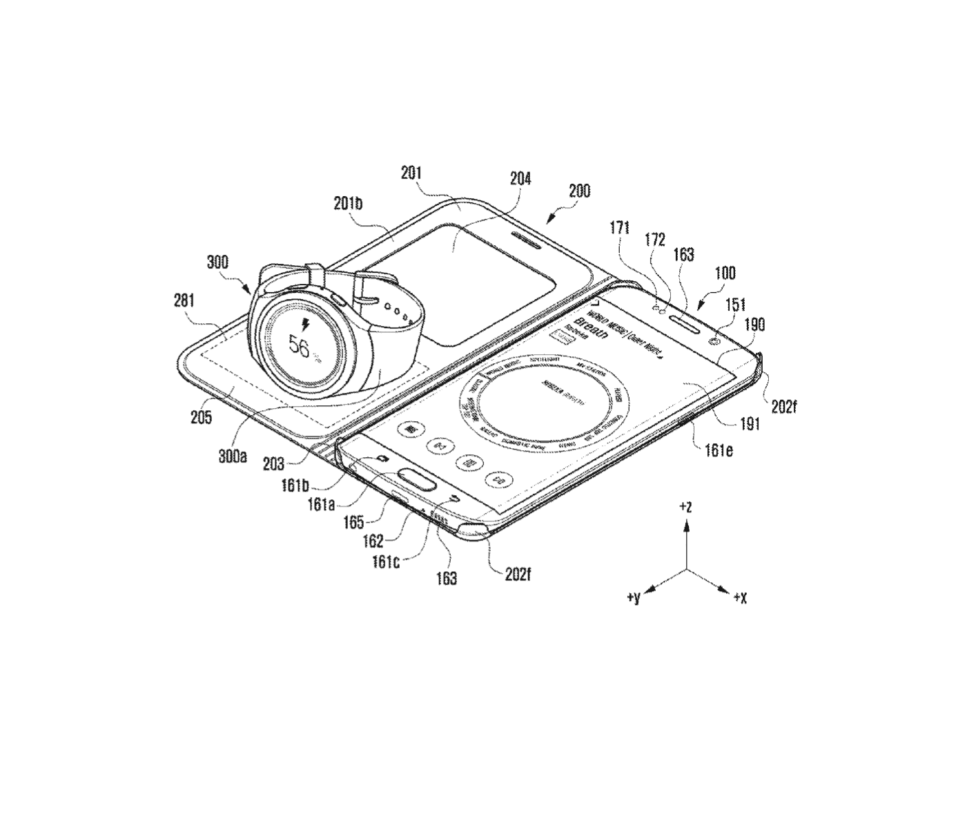 Samsung Wireless Charging Case Patents 7