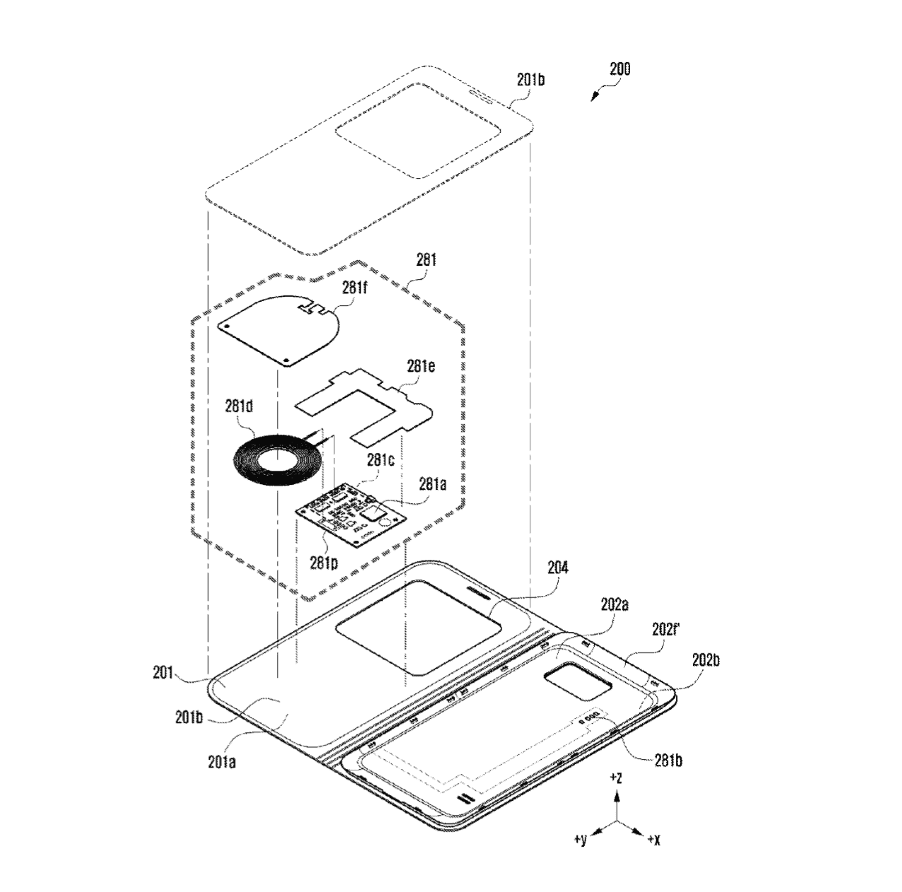 Samsung Wireless Charging Case Patents 8