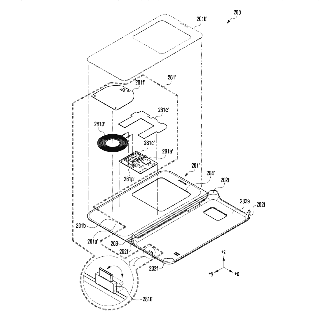 Samsung Wireless Charging Case Patents 9