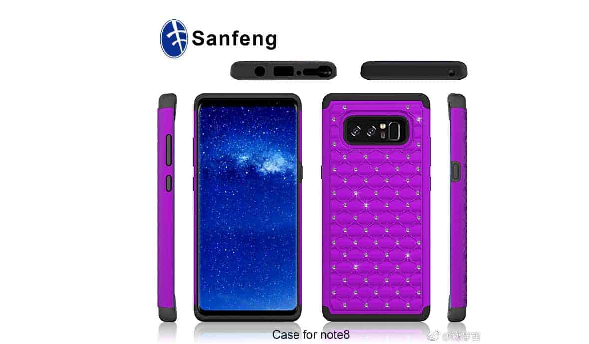 Sanfeng Galaxy Note 8 Case Leak 31