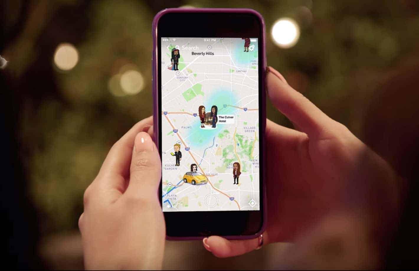Snap Map Trailer Screenshot