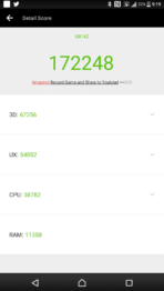Sony Xperia XZ Premium AH NS Screenshots benchmarks 01