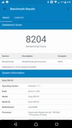 Sony Xperia XZ Premium AH NS Screenshots benchmarks 12