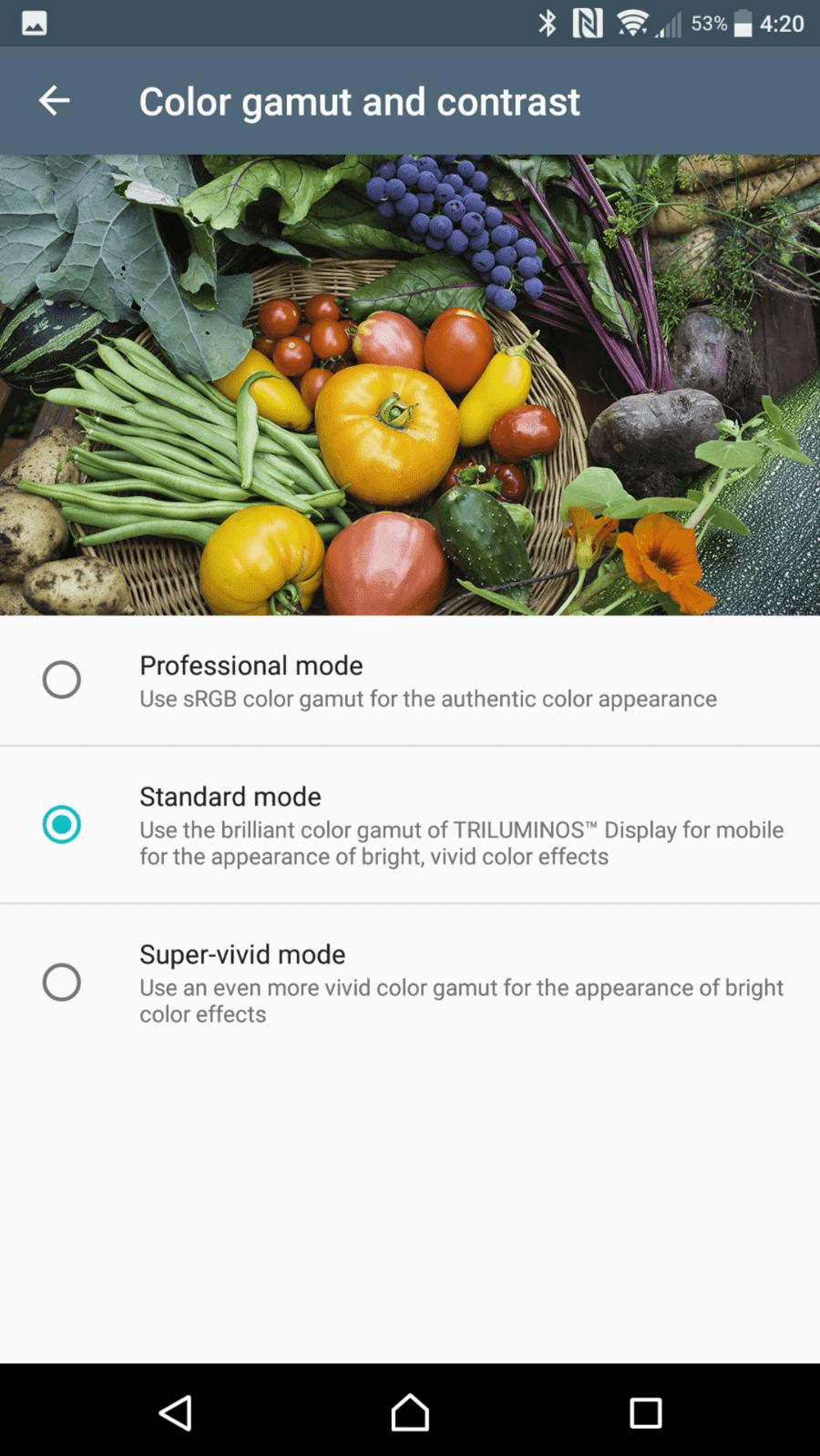 Sony Xperia XZ Premium AH NS Screenshots display 3