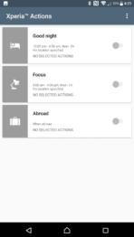 Sony Xperia XZ Premium AH NS Screenshots xperia actions 02
