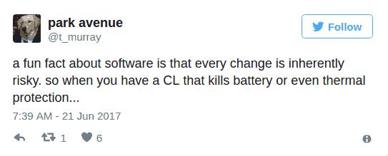 Tim Murrays OnePlus 5 frequency ramping response 4