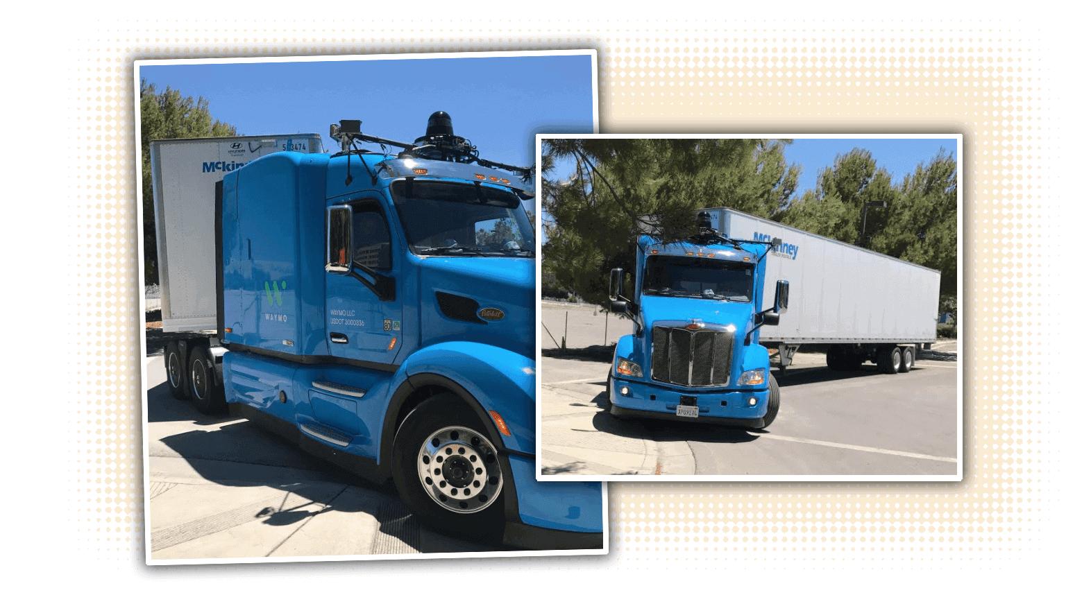 Waymo Truck Yalopnik 1