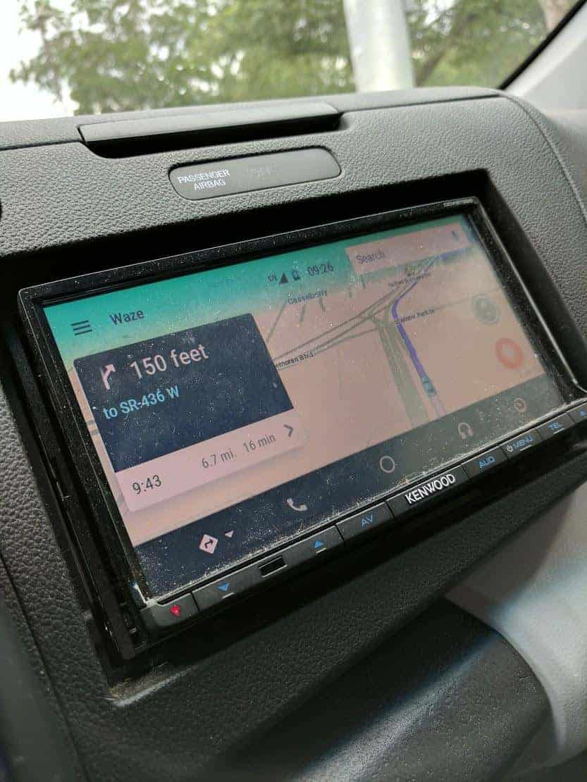 waze begins pushing beta to android auto owners. Black Bedroom Furniture Sets. Home Design Ideas