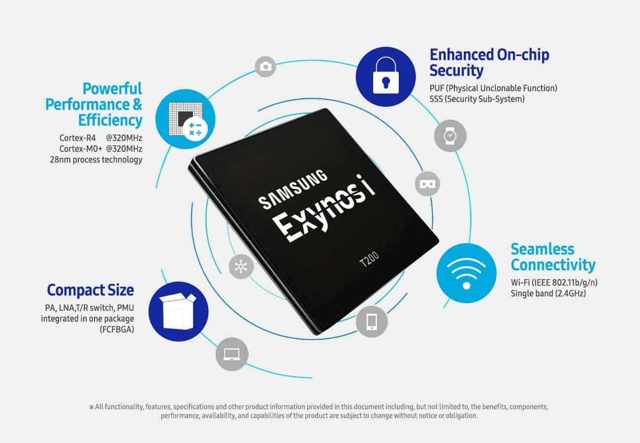 Puf Iot Security : Samsung exynos i t iot soc goes into mass production