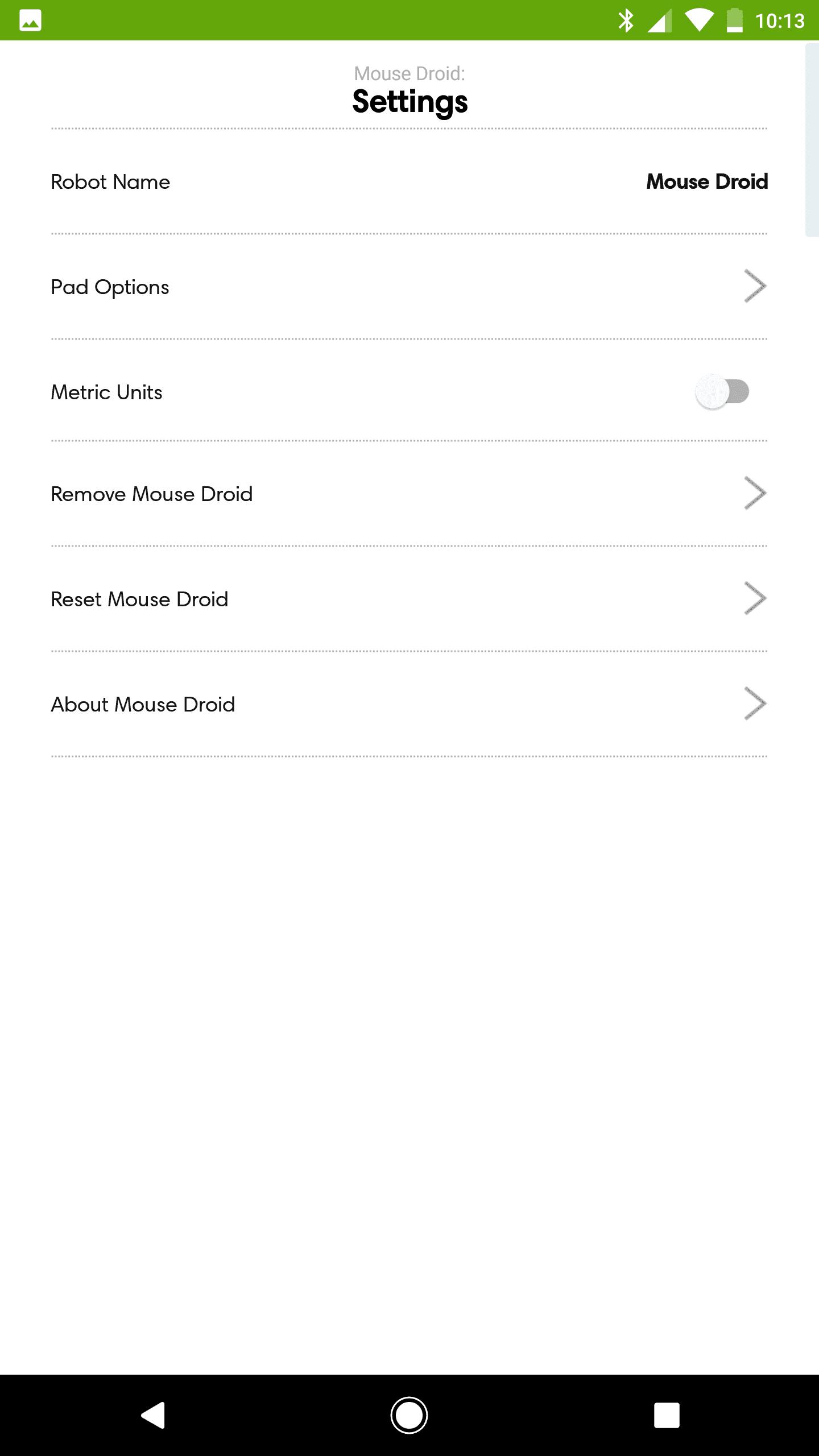 irobot braava jet 240 AH NS screenshots app settings