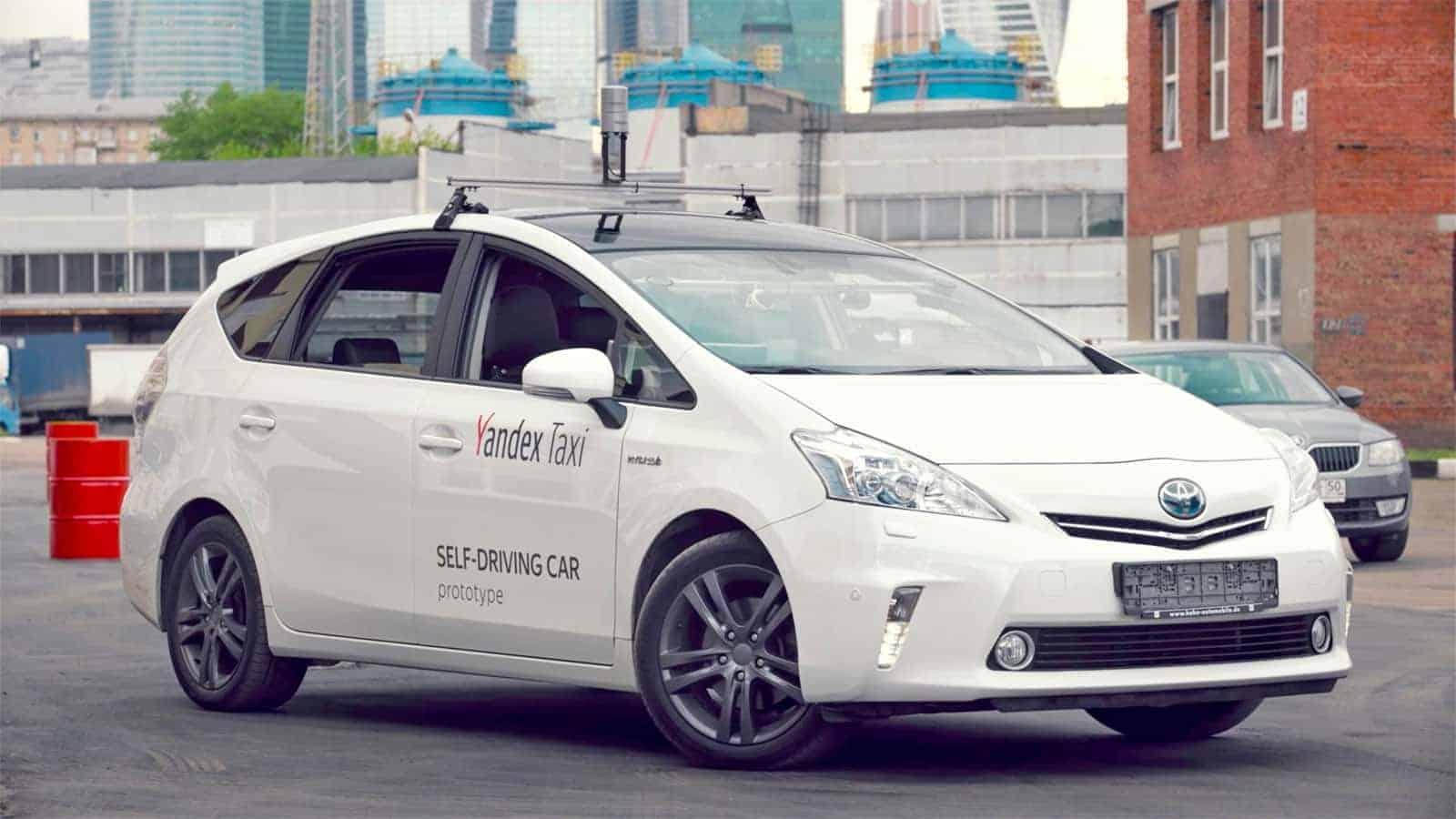 yandex self driving car ed