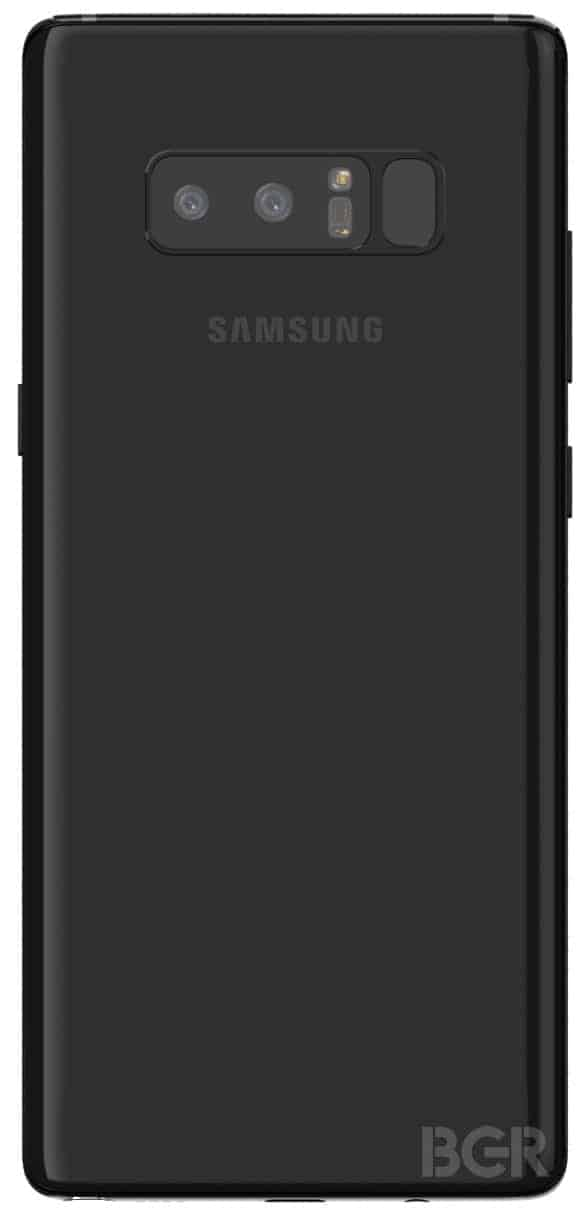 BGR Samsung Galaxy Note 8 Render 2