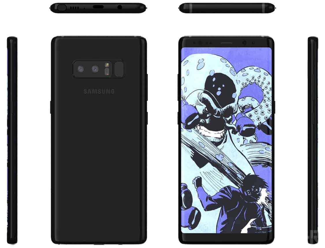 BGR Samsung Galaxy Note 8 Render 3
