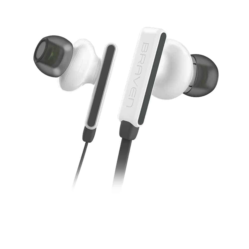 BRAVEN FLYE SPORT Earbuds WHT Details
