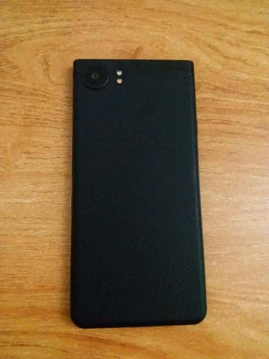 BlackBerry KEYone All Black Rear