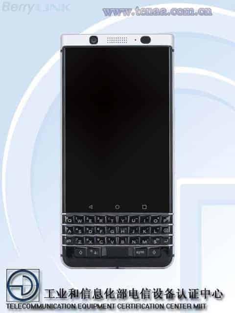 BlackBerry KEYone TENAA 1