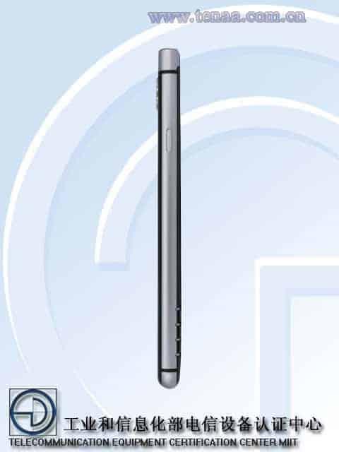 BlackBerry KEYone TENAA 3