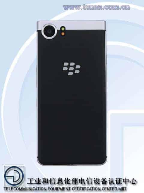 BlackBerry KEYone TENAA 4