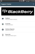 BlackBerry Support Center 1