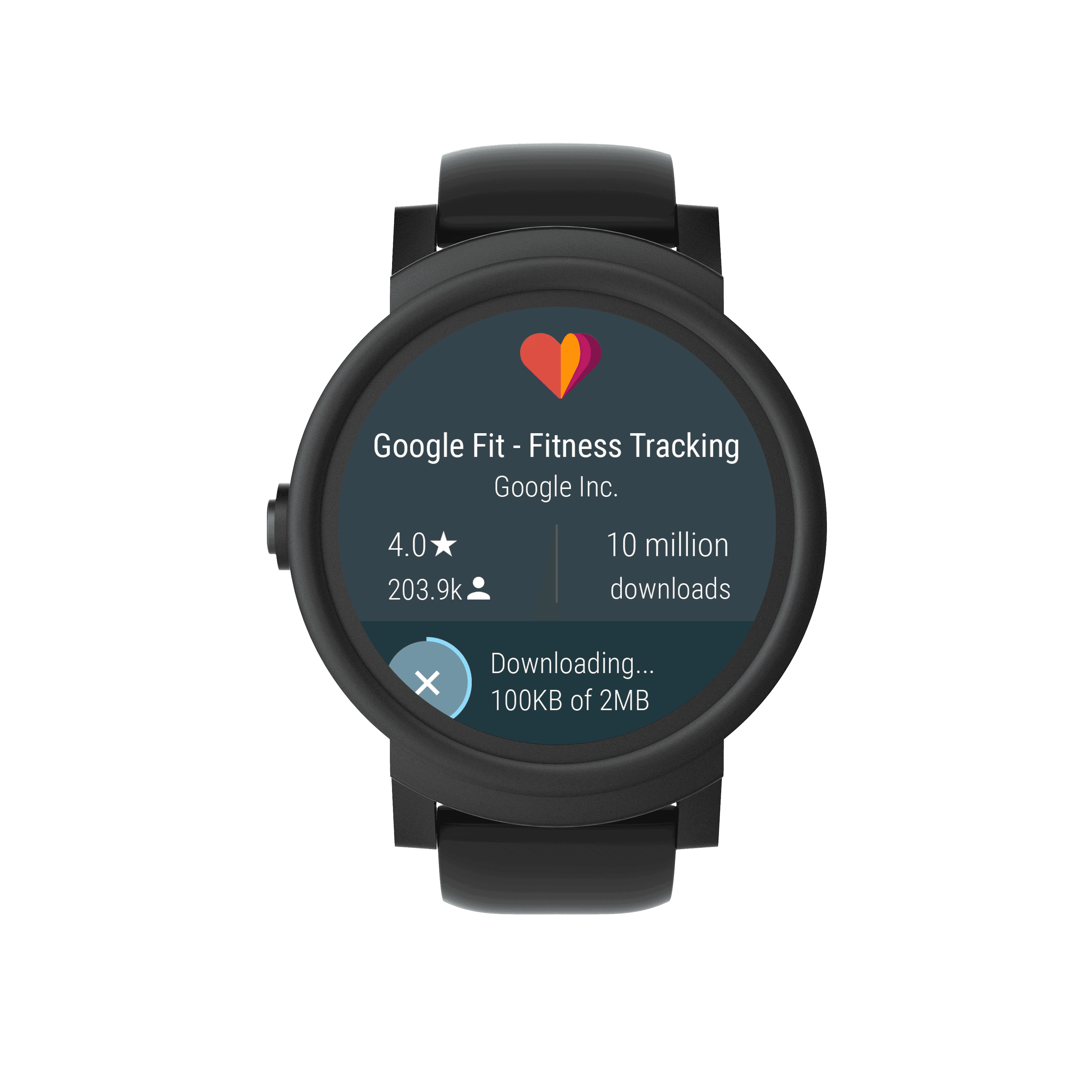 Express front Google Fit