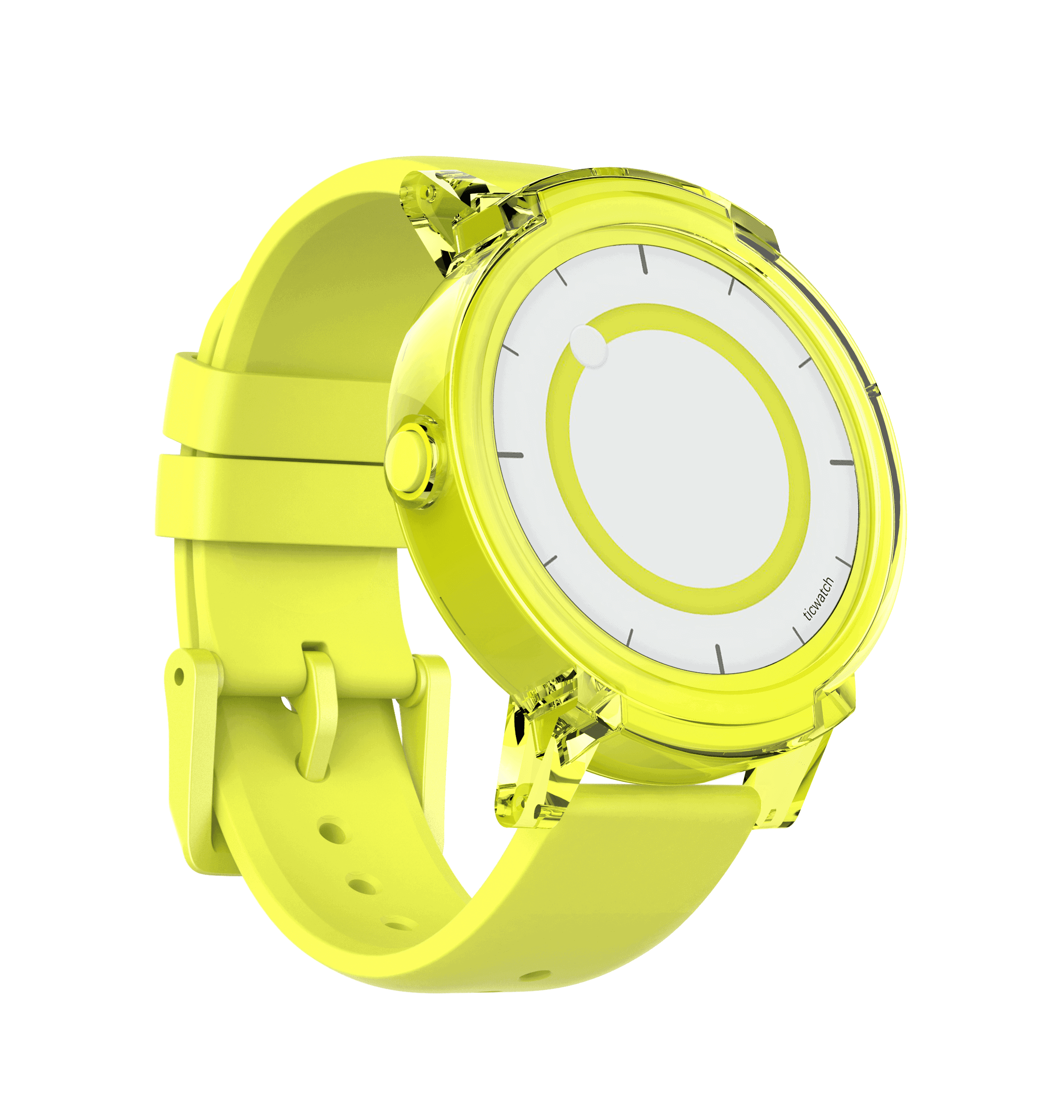 Express yellow fastened