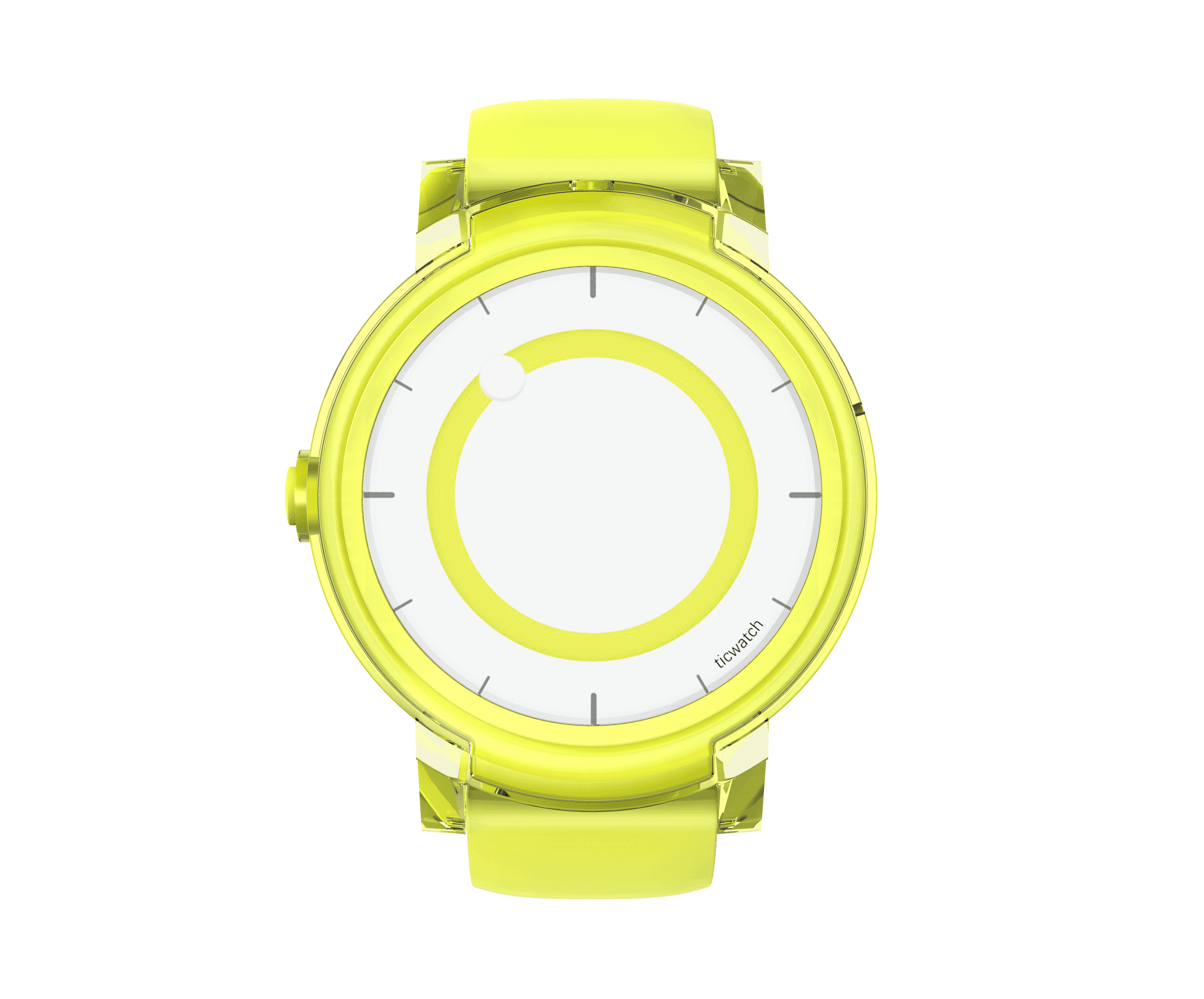 Express yellow front dial
