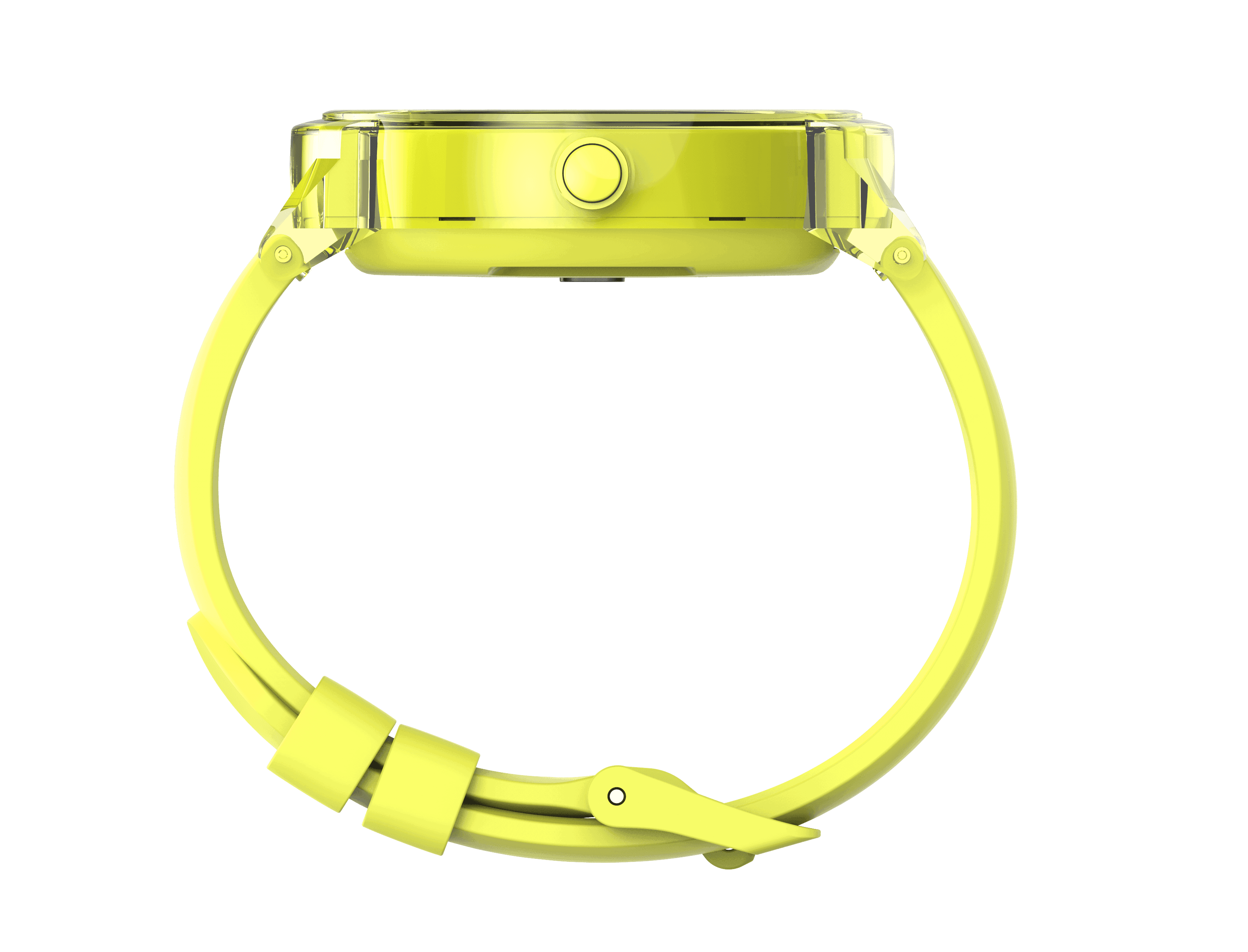 Express yellow sideview