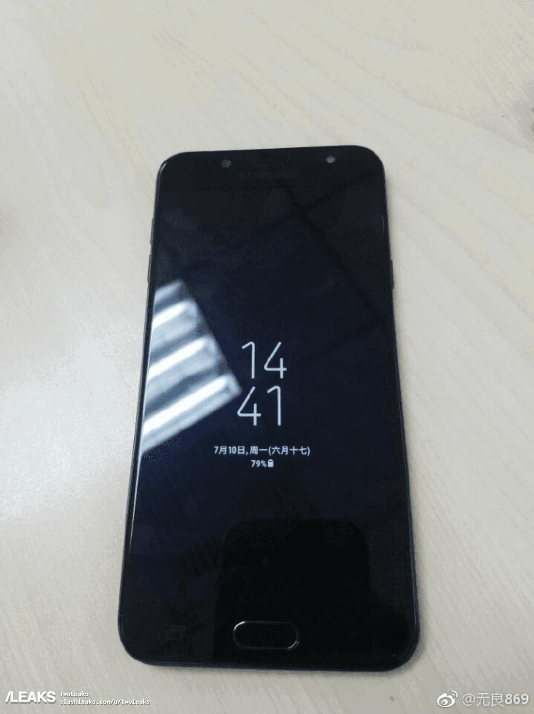 Galaxy J7 2017 with dual camera setup leak 1