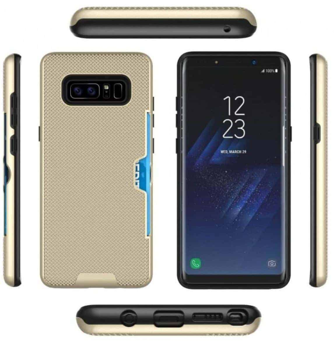 Galaxy Note 8 Render Case Leak Zyadatef 2