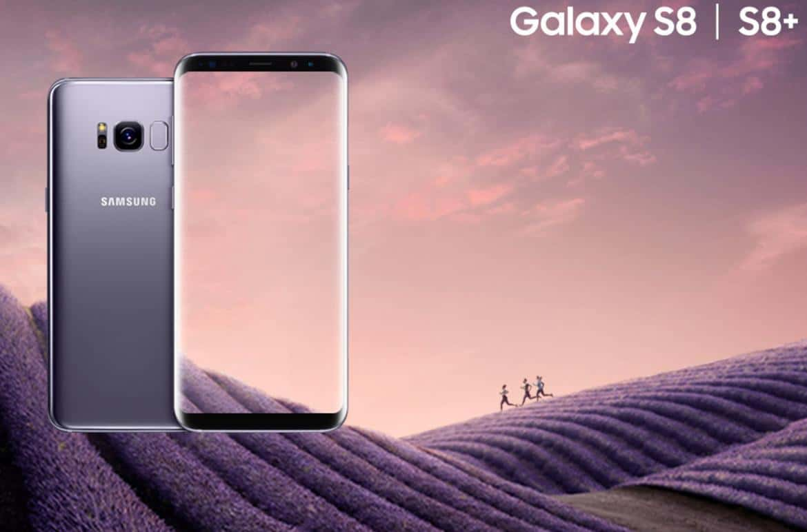 orchid gray samsung galaxy s8 s8 plus launched in india. Black Bedroom Furniture Sets. Home Design Ideas