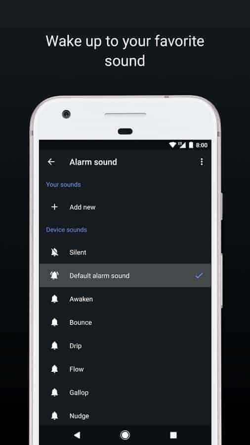 Google Clock Android O 04