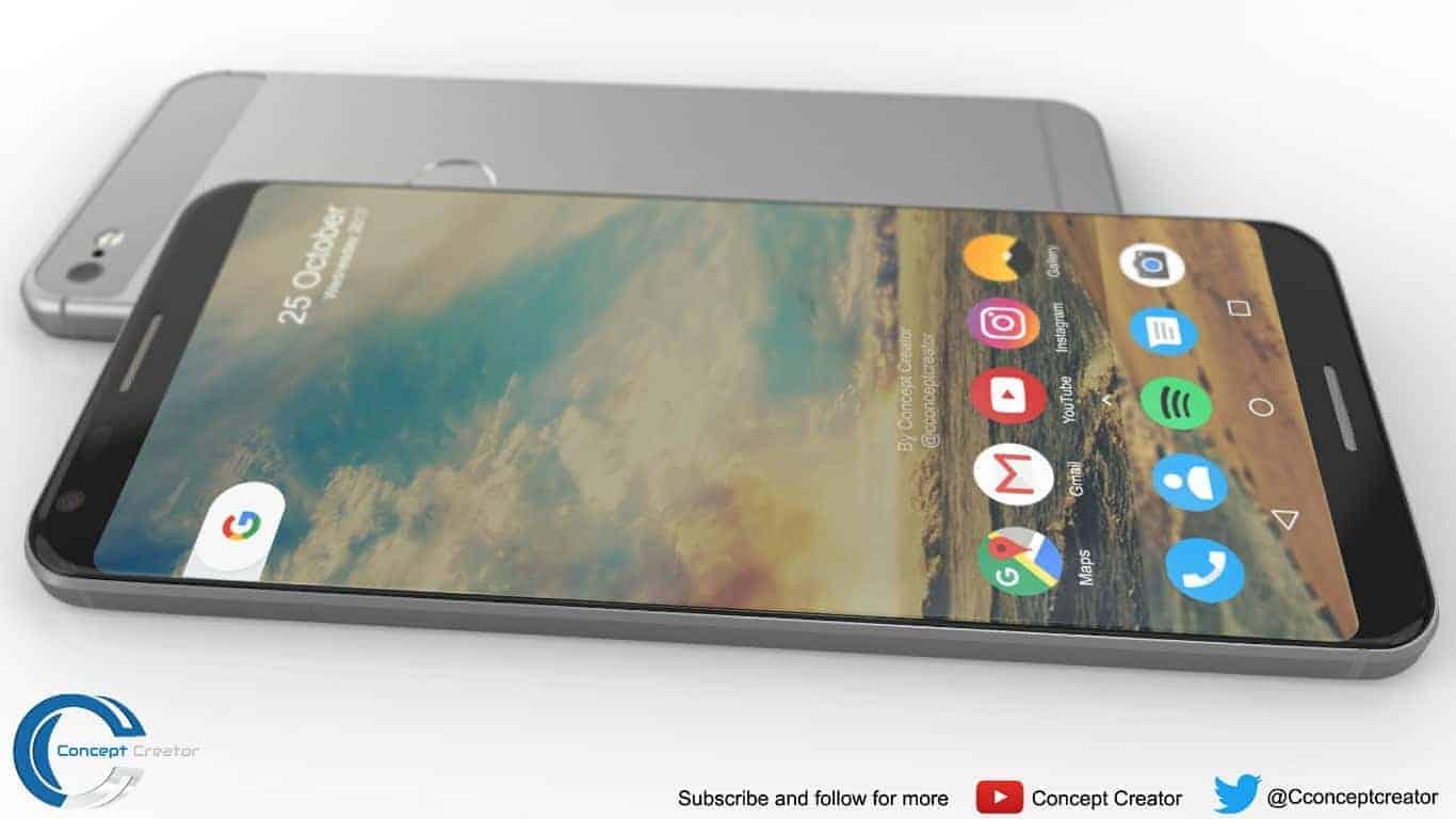 Google Pixel 2 XL concept 2