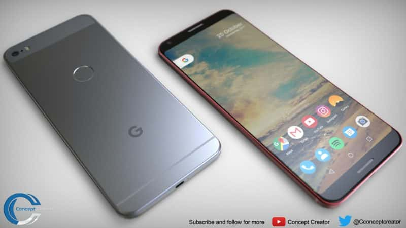 and they never do some of the design elements were pretty close to what now seems be final for pixel 2 xl