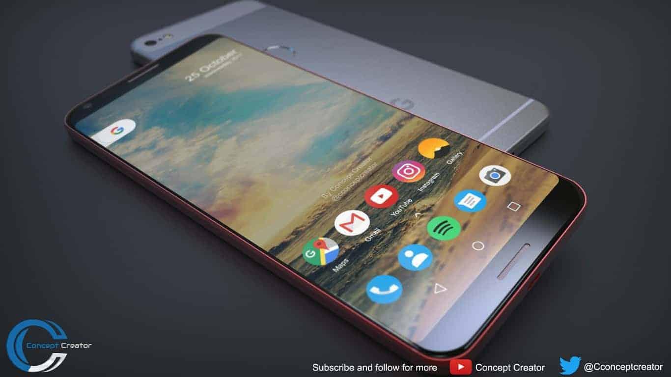 Google Pixel 2 XL concept 4