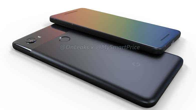 Google Pixel XL 2 OnLeaks MySmartPrice Render 1