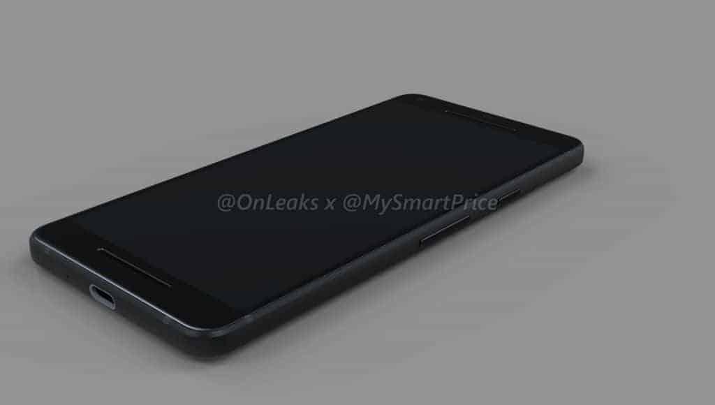Google Pixel XL 2 OnLeaks MySmartPrice Render 5